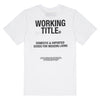WORKING TITLE | Camiseta Domestic Goods WTR004