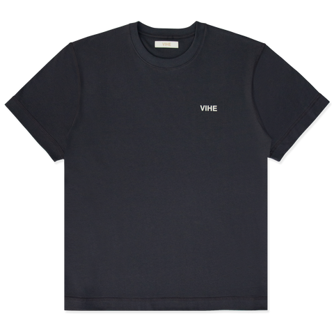VIHE | Camiseta Over Black