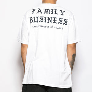 DUBUD | Camiseta Family Business Branca