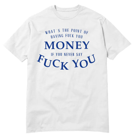 DUBUD | Camiseta Money Branca