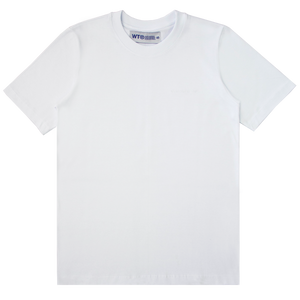 WORKING TITLE | Camiseta Logo Bordado Branco