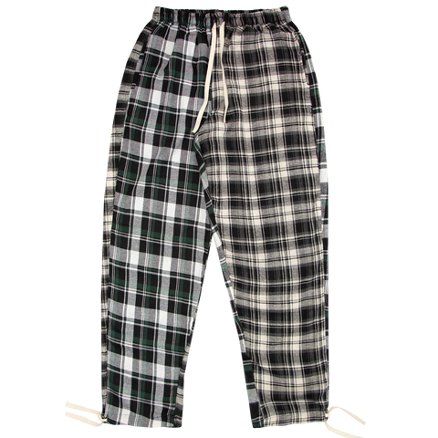 LOW ORDER + MUFF PROJECT | Calça Flannel Green/Grey