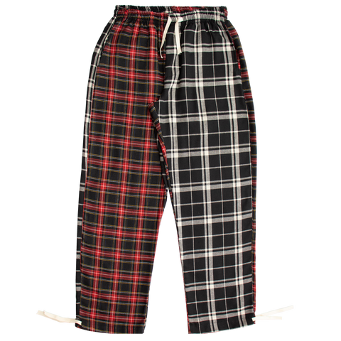 LOW ORDER + MUFF PROJECT | Calça Flannel Black/Red