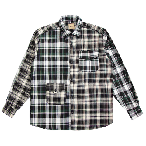 LOW ORDER + MUFF PROJECT | Camisa Flannel Green/Grey