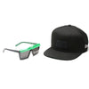 EVOKE + NEW ERA  |  Futurah NE01 Black Shine Green/ Gray