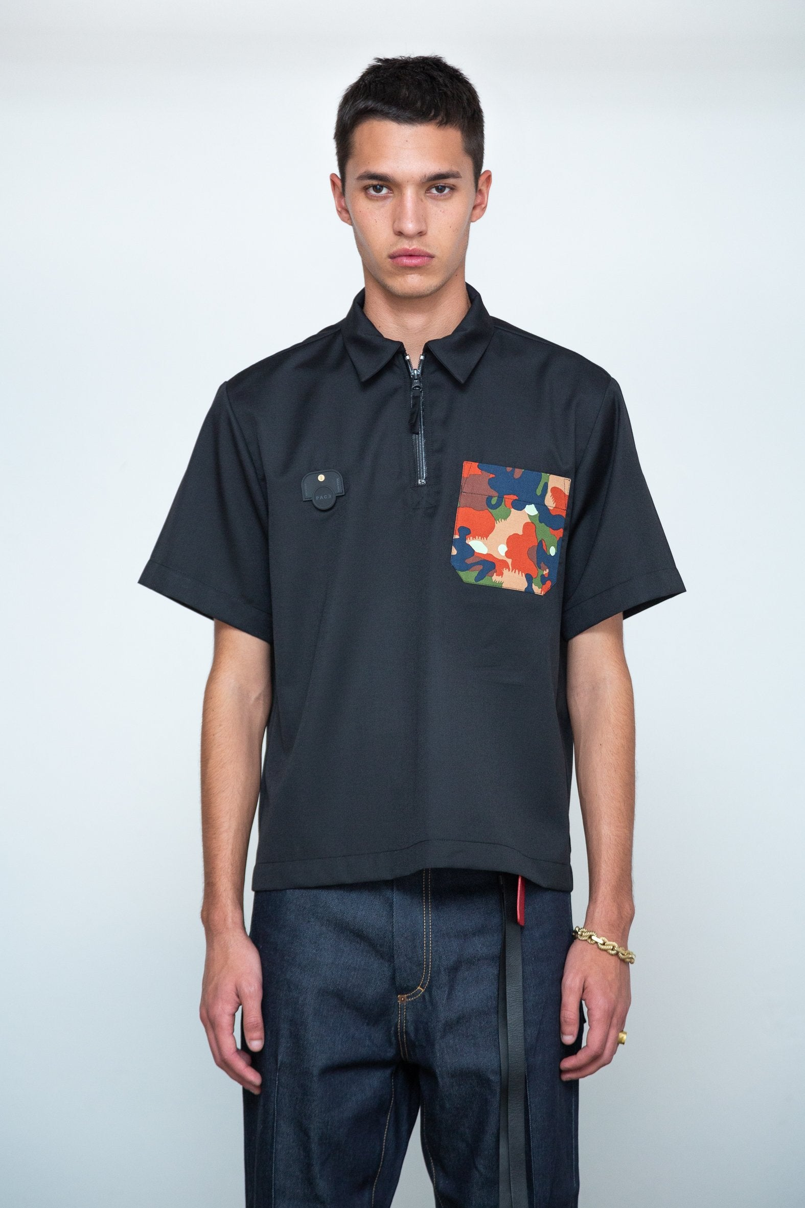 PACE | Camisa Polo JFP BLACK