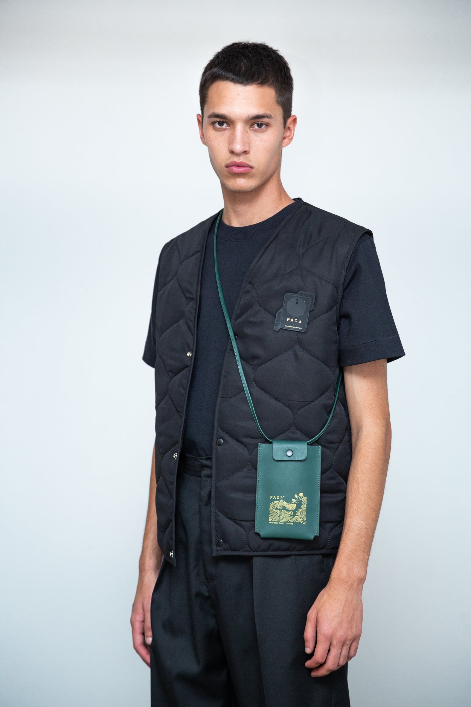 PACE |  Pouch Leather Green