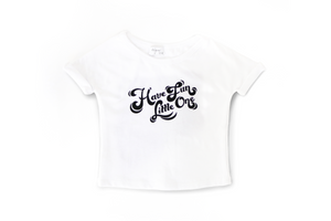 Have Fun Little One - Cuffed Sleeve Tee-Mila James