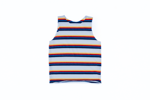 Retro Rainbow Stripe Tank