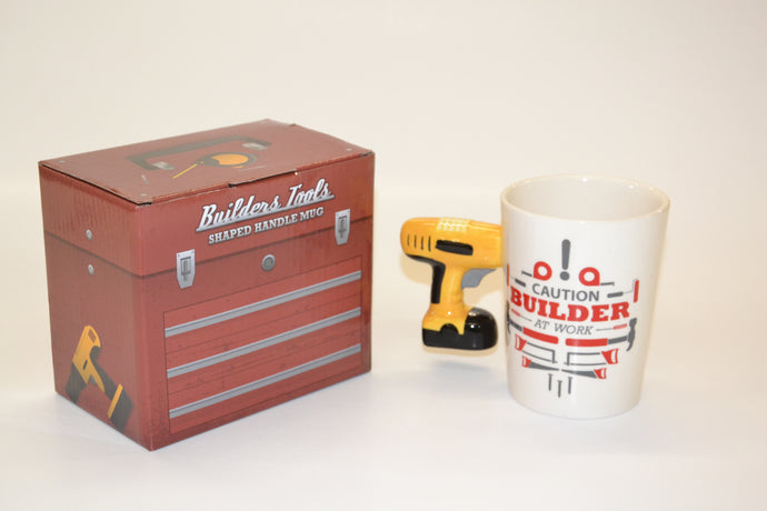 Builders Tools Shaped Handle Mug