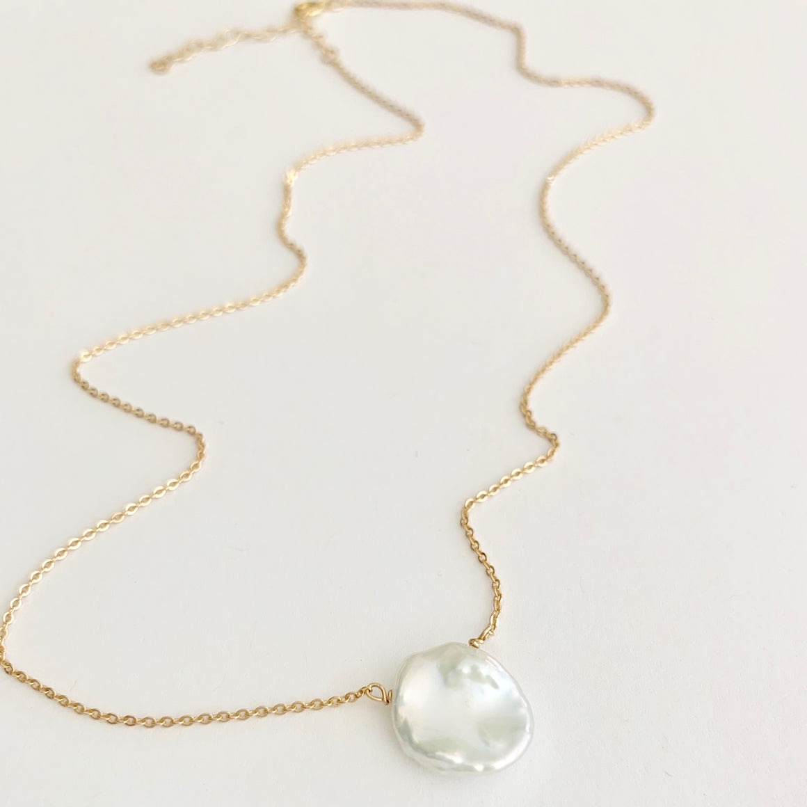 Kelly Keishi Pearl Necklace