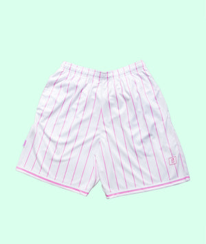 BABES PINK HOMO BASKETBALL SHORTS