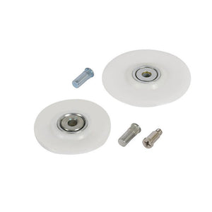 Heavy Duty Screen Roller Replacement Wheel Kit for 2-1/2""