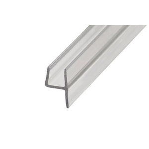 "Shower Door Polycarbonate ""h"" Jamb 180 Degree Seal - 3/8"" Width"