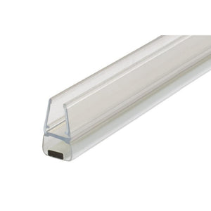 "Shower Door 90 Degree Magnetic Profile for Glass-To-Glass fits 1/4"" and 5/16"" Glass"