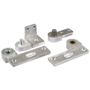 Commercial Aluminum Door Pivot Set - Left