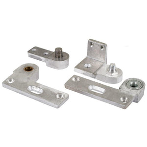 Commercial Aluminum Door Pivot Set - Right