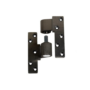 "Commercial Door Aluminum 3/4"" Offset Intermediate Pivot - Bronze - Left"