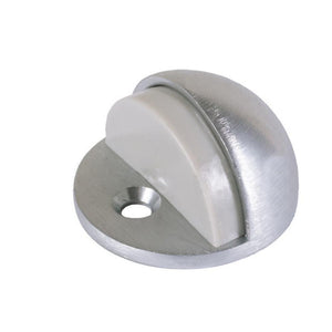 "Dome Floor Mounted Low Profile 1/8"" Base Door Stop - Chrome"
