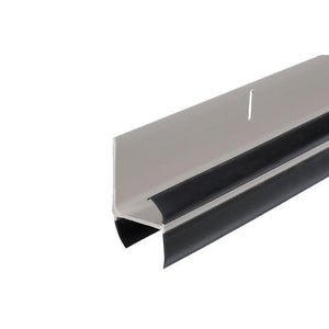 L-Shaped Expander Door Sweep for AluminArt Storm Doors - Sandlestone