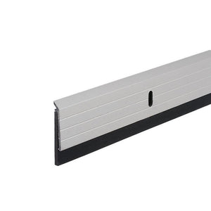 "Commercial 1-3/8"" Bottom Door Sweep for 36"" Doors - Clear Anodized"