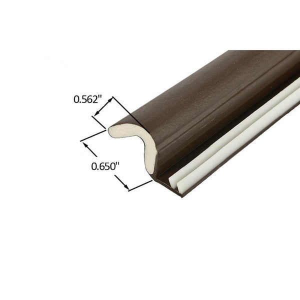 Foam Tite Kerf Weatherseal Brown Set Reflect Window