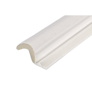 Foam-Tite Kerf Door Weatherseal - White - Set