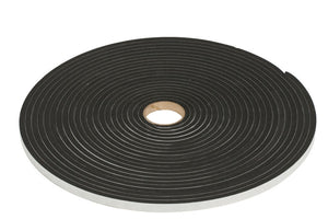 "Adhesive, Closed Cell 3/16"" Neoprene Foam Tape - 1/2'' Width"