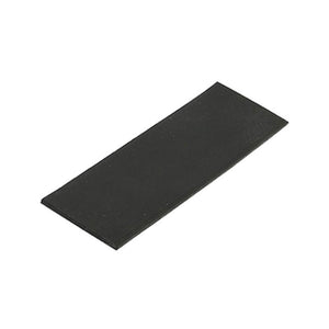 "Silicone 1-1/8"" Wide x 4"" Long Setting Block - 1/16'' Thick"