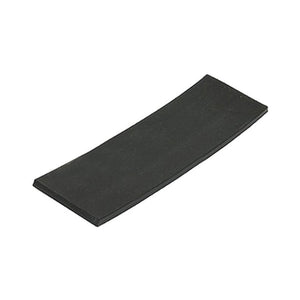 "Silicone 1-1/8"" Wide x 4"" Long Setting Block - 1/8'' Thick"