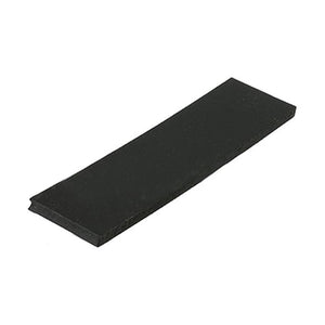 "Silicone 1-1/8"" Wide x 4"" Long Setting Block - 1/4'' Thick"