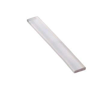 "Clear 1/4"" Wide x 2"" Long Setting Block - 1/32'' Thick"