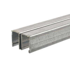 Showcase Zinc Plated Steel Roll-Ezy Upper Channel Track Assembly