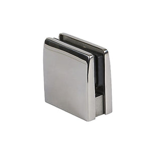 Glass Clamps (Square Top) (Polished Stainless)