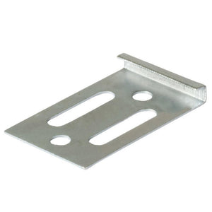 Vancouver Zinc Plated Mirror Clip - 3 mm