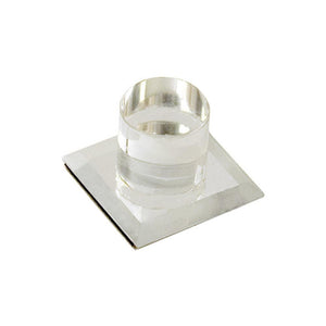 "Mirror Acrylic Stick-On 1"" Knob"