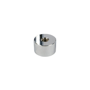 "Standoff Bases (1-1/4"" Diameter) (Satin Chrome) (Height 3/4"")"