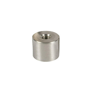 "Standoff Bases (2"" Diameter) (Brushed Stainless) (Height 1-1/2"")"