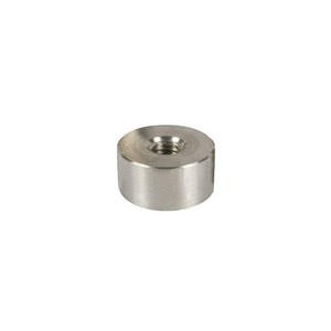 "Standoff Bases (2"" Diameter) (Brushed Stainless) (Height 1/4"")"