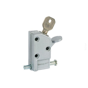 Security Keyed Step-On Door Lock - Aluminum