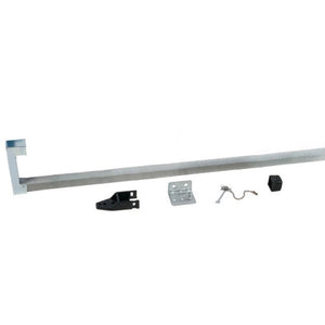 Security Bar for Sliding Glass Doors - Aluminum