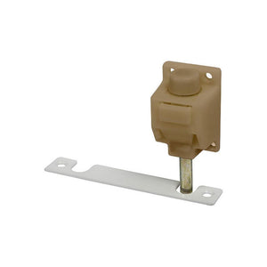 Truth Hardware Foot Operated Patio Door Lock and Keeper - Coppertone