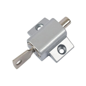Security Keyed Patio Door Lock - Aluminum