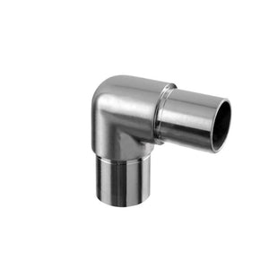 "Round Profile Handrail 90-degree Round Corner Connection (1-1/2"" Diameter)"