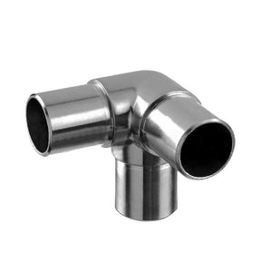 "Q-railing 1-1/2"" Diameter Round Profile 90-degree 3-Way Corner Connection"