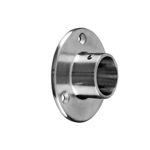 Round Profile Hand Rail Wall Flange Connection (1-1/2'' Diameter)
