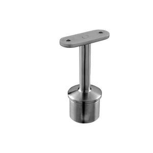 "Round Profile Baluster Bracket for Square Handrail Tubing (3-1/4'' Height) (2"" Post Diameter)"
