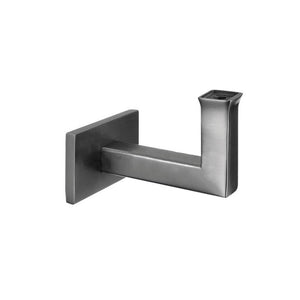 Square Line Handrail Bracket For Wall To Flat Material