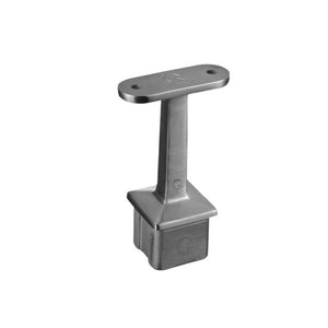Square Line Top Post Bracket To Flat Material