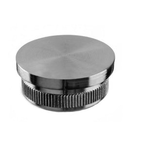 "Round Profile Handrail Cap (EASY HIT, Flat) (2"" Diameter)"